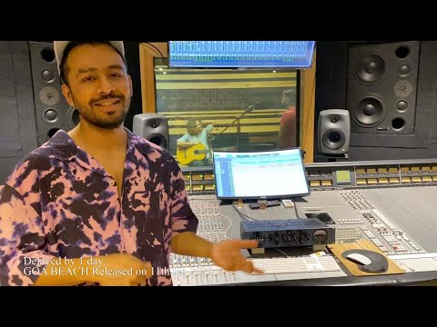 Goa Beach Recording Session | Tony Kakkar, Rhythm Shaw, Rahul Sharma