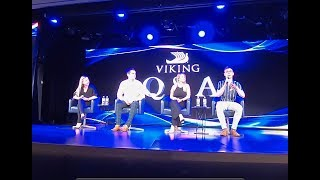 Backstage Tour of the Star Theater on the Viking Orion