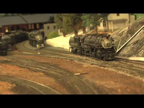 SP Cascade Passenger Train
