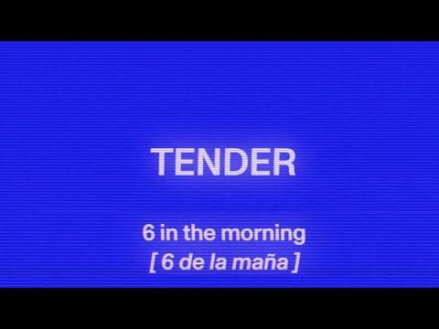 TENDER - 6 in the morning