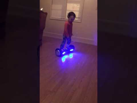 "The man, the myth, the legend, ""Kingston"" the 2 year old hover boarding baby!"