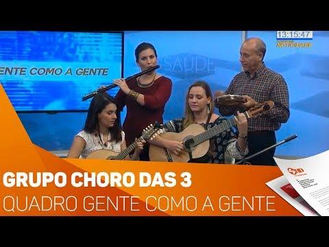 Quadro Gente Como A gente: Grupo Choro das 3 - TV SOROCABA/SBT