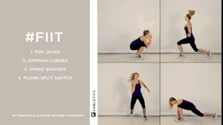 #FIIT | 4 Moves to Tone Your Lower Body
