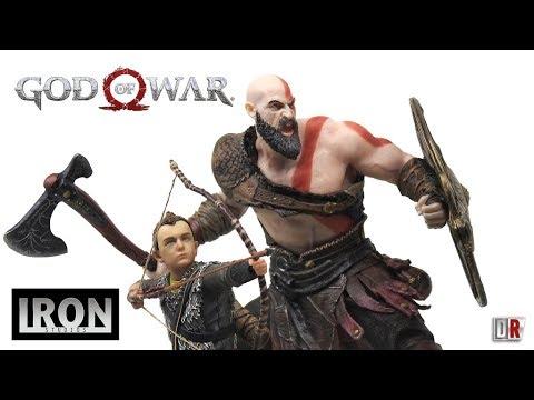 Iron Studios GOD OF WAR Review BR / DiegoHDM