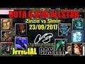 Dota 1 Gameplay - Zinzin vs Slmin - Dota 6.83d 23/09/2017