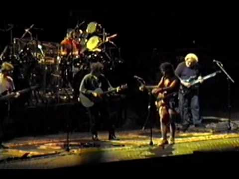 Rainy Day Women (w/ B Dylan) - Grateful Dead - 10-17-1994 Madison Square Garden, NY set2-10