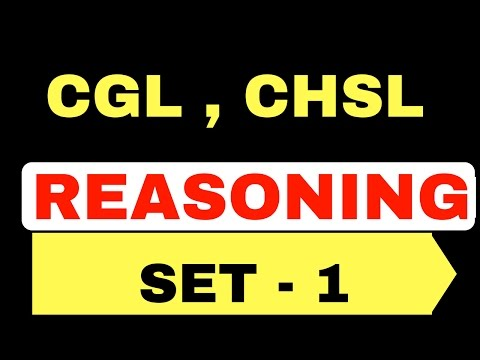 Logical reasoning questions for ssc chsl