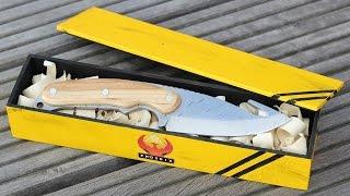 Making a Homemade Knife ★CS:GO GUT KNIFE★