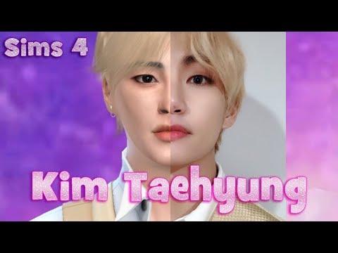 Ким Тэхён в Симс 4   Kim Taehyung (V) from BTS   심즈 4
