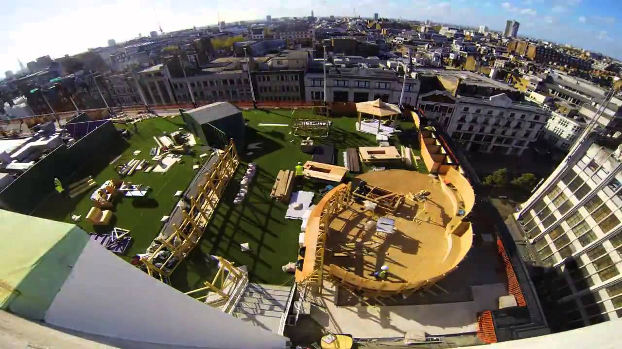 creating the john lewis roof garden design