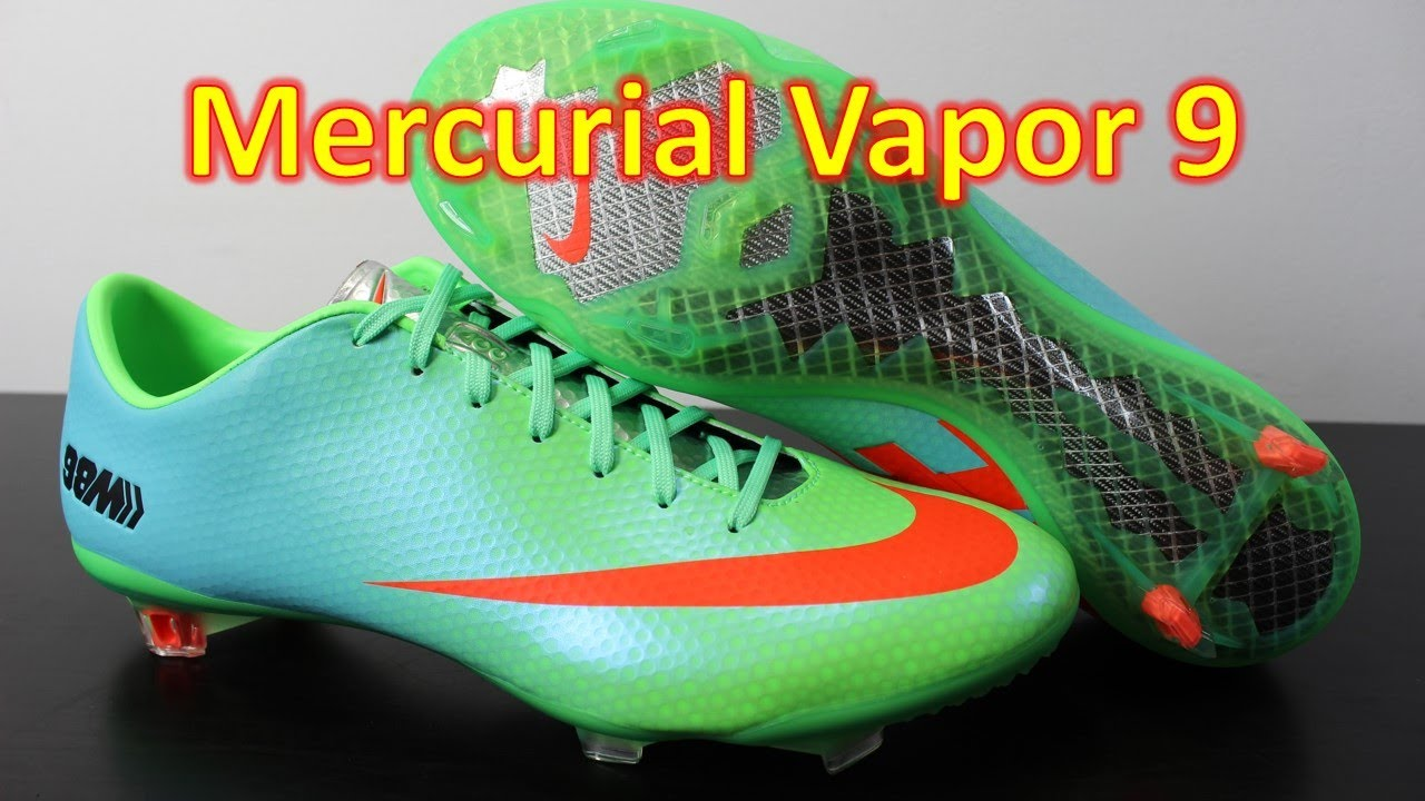 Nike Mercurial Vapor 9 98M Neo Lime Atomic Orange - Unboxing + On Feet 7404afb5c
