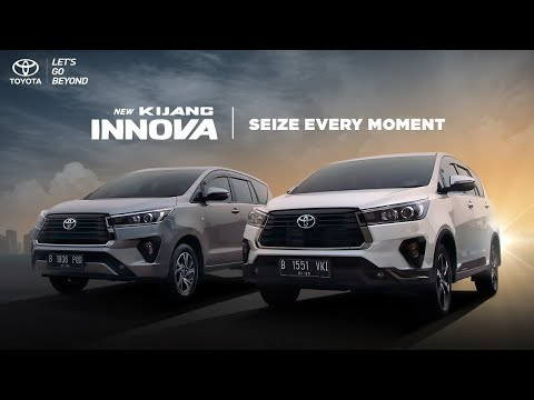 The New Toyota Kijang Presents - Seize Every Moment