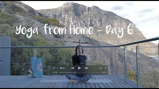 Day 6 - Free 7 Days of Yoga from Home