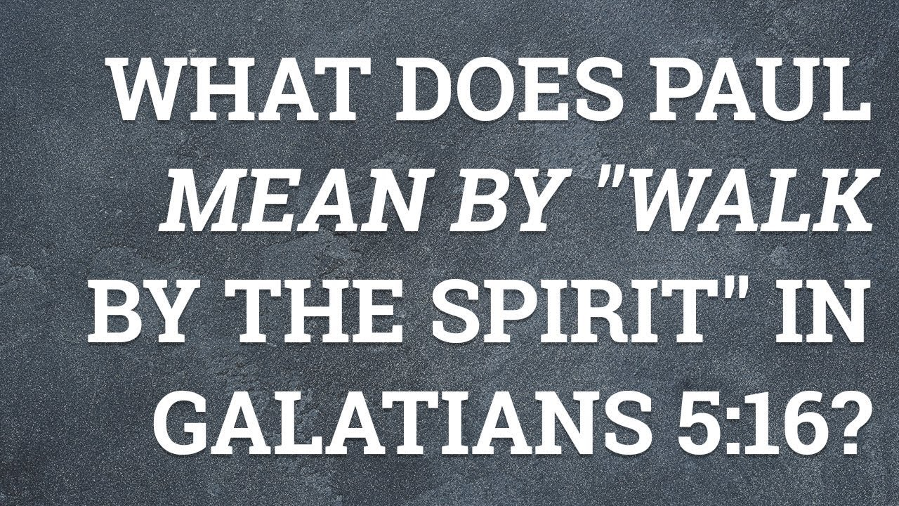 GALATIANS 5 COMMENTARY DOWNLOAD