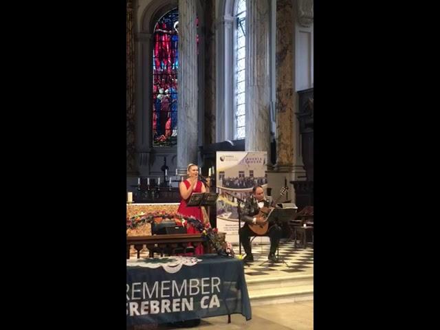 Birmingham-komemoracija godišnjice genocida u Srebrenici. Aida Čorbadžić i Elvir Solak