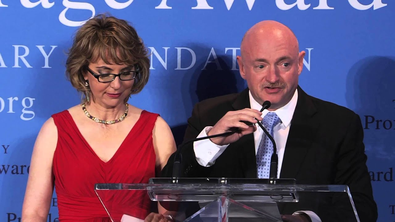 Gabrielle Giffords Courage 2013 Profile In Courage Award Ceremony Youtube