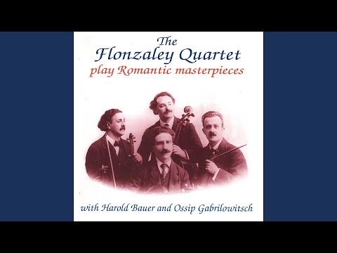String Quartet No. 1 In E-Flat Major, Op. 12: II. Canzonetta