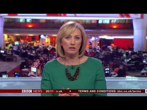 Martine Croxall BBC News 8pm April 1st 2018