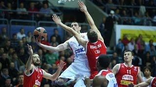 Highlights: Cedevita Zagreb-CSKA Moscow
