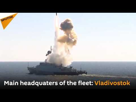 Russia's Pacific Fleet Celebrates Its Anniversary