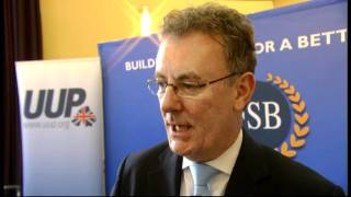 Mike Nesbitt MLA talks about the economy with the FSB