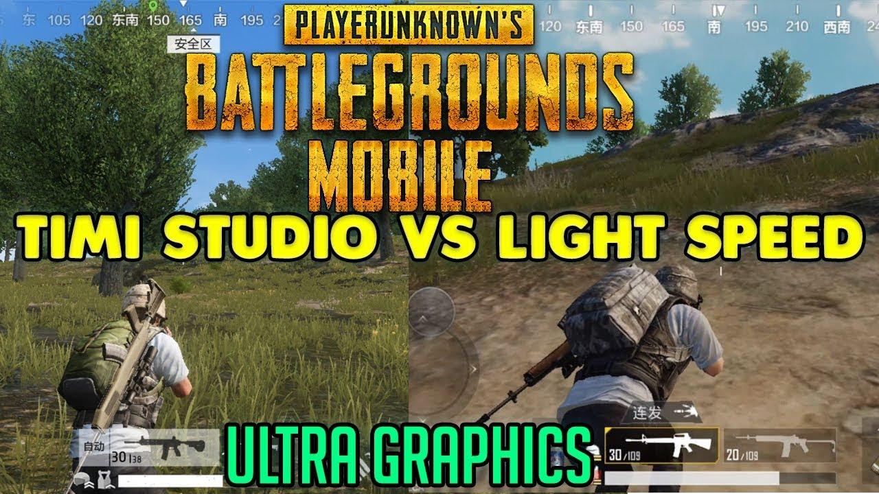 Pubg Mobile Ultra Hd Yapma Ios: LIGHTSPEED VS TIMI STUDIO ( ULTRA GRAPHICS