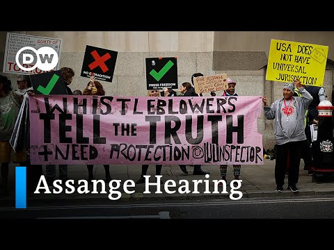 Assange extradition hearing resumes | DW News