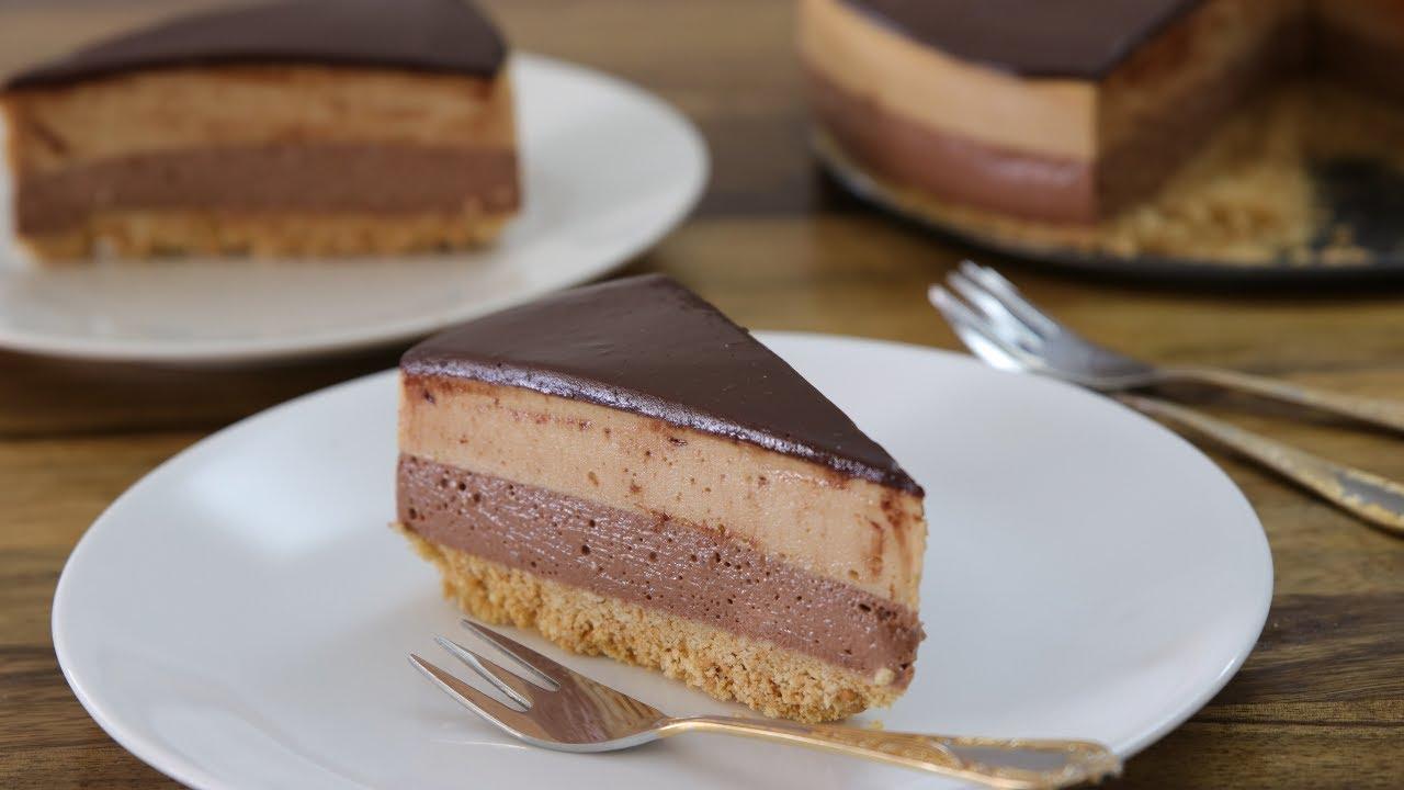 No-Bake Nutella-Peanut Butter Cheesecake Recipe