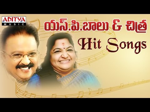 S P Balu & Chitra Telugu Hit Songs  Jukebox