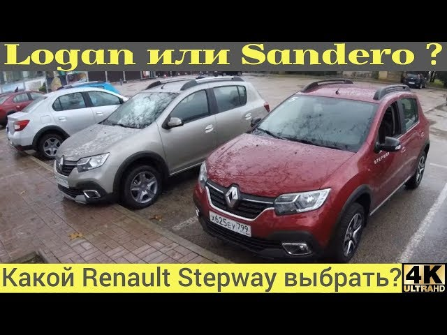 Что выбрать Logan или Sandero Stepway? City!
