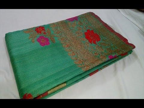 1397a7e8137 Chanderi maheshwari Banarasi Pure Silk Handloom Sarees