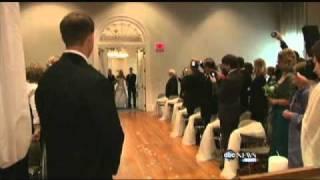 Paralyzed Bride Jennifer Darmon Walks at Wedding