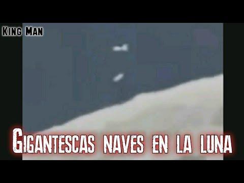 Graban 2 naves gigantes en la Luna