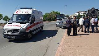 Konya'da otobüs ile otomobil çarpıştı: 1 ölü, 3 yaralı