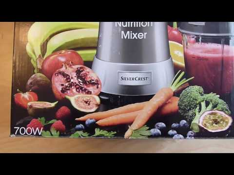 Silvercrest Slow Juicer Parts : Produktvideo Silvercrest Smoothie Maker Lidl lohnt sich Repeatvid