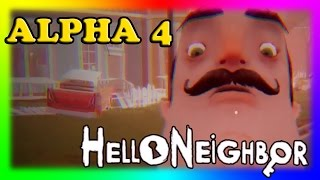 Hello Neighbor Alpha 4 | Bendy and the Ink Machine | Roblox | may 7, 2017 | ended