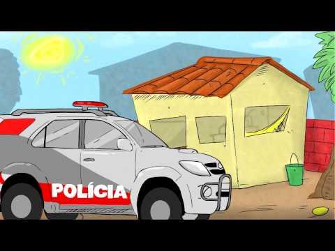 Carro Da Puliça - Suricate Seboso