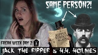 Is H.H. Holmes ALSO Jack The Ripper?!!