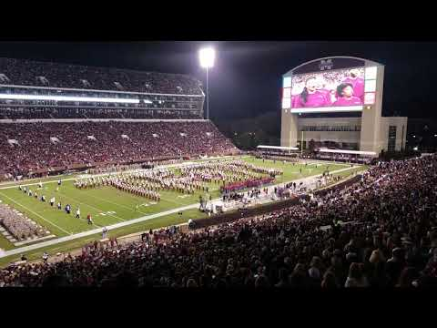 Famous Maroon Band 2017 Salute to the Troops Performance