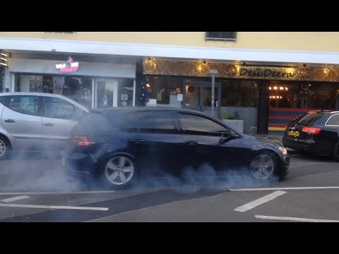 MADNESS on Slough High Street AGAIN! (Burnout, Revs, Accelerations)