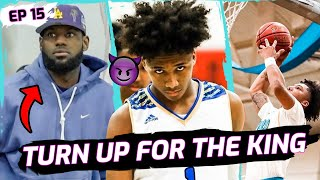 """Oh Sh*t, LEBRON!"" Mikey Williams FIGHTS TO SURVIVE In Front Of Bron & YG! Responds To VICIOUS Fans"