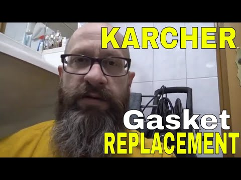 Karcher Gasket Replacement for Pressure Washer DIY Project