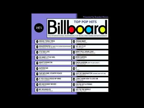 Billboard Top Pop Hits - 1971