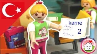 Playmobil Türkçe Sude'nin Karnesi -  Hauser Ailesi - düğün Çocuk filmi