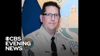 Sergeant who responded to California shooting remembered as a hero
