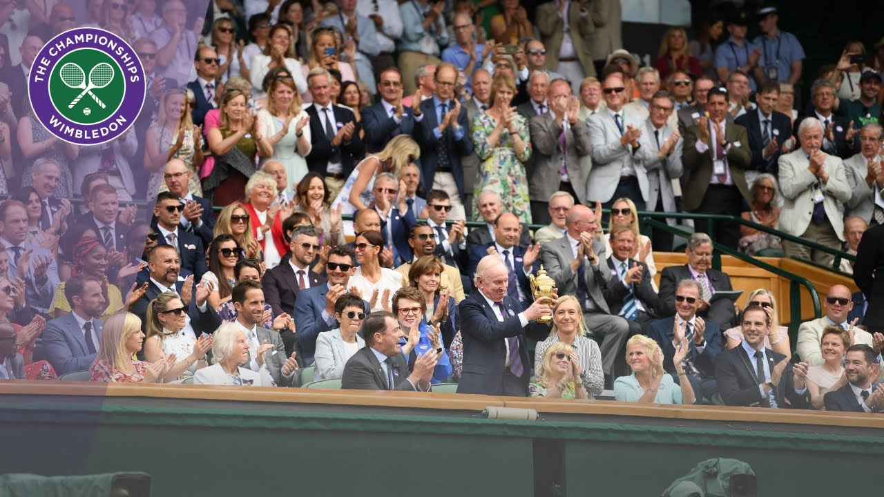 Download Sporting stars welcomed to the Royal Box at Wimbledon 2019