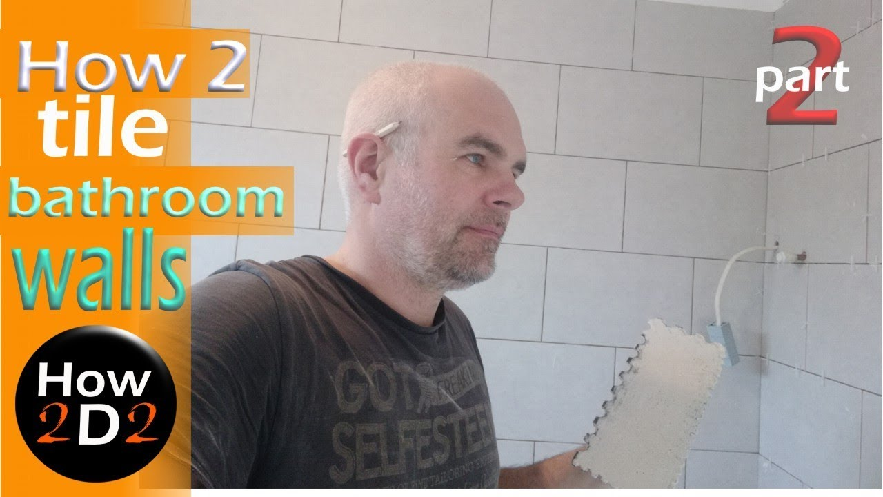 How To Tile A Bathroom Wall Also How To Drill In Ceramic Tiles And