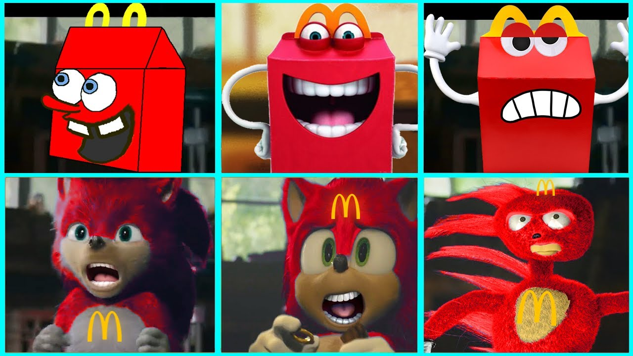Download Sonic The Hedgehog Movie - Happy Meal Uh Meow All Designs Compilation