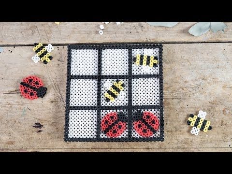DIY : Make your own Tic Tac Toe from beads by Søstrene Grene