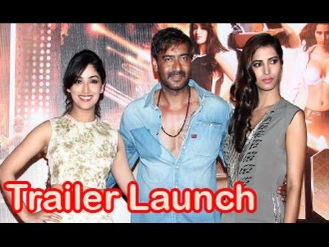 Ajay Devgn, Yami Gautam, Manasvi Mamgai at 'Action Jackson' Trailer Launch | Prabhudeva